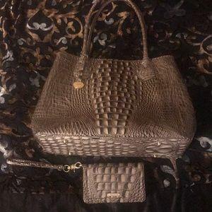 Classic Brahmin 2013 handbag and wallet